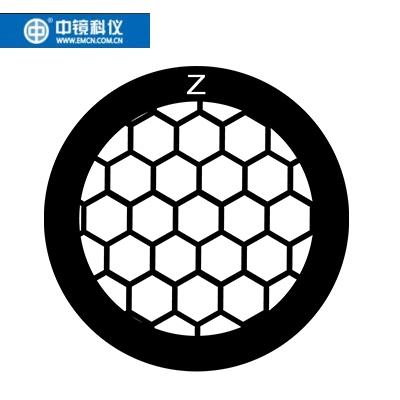 中镜科仪 国产50至400目宽边圆孔铜网(不带碳膜) 透射电子显微镜载网/电镜耗