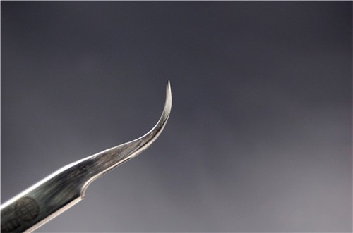 中镜科仪  国产经济型高精细直头/弯头镊子 电镜耗材